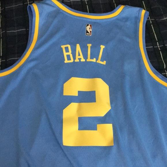 Shirts   Mpls Lakers Lonzo Ball Swingman Jersey   Poshmark